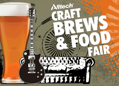 Hope gear up for a trip to AllTech Craft Beer Fest 2017