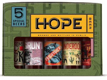 Win a gift pack of Hope Beer and a brewery tour!