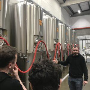 HOPE BEER BREWERY TOUR