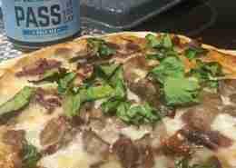 BBQ Beer Pizza
