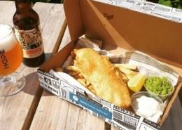 Dublin fish and chips