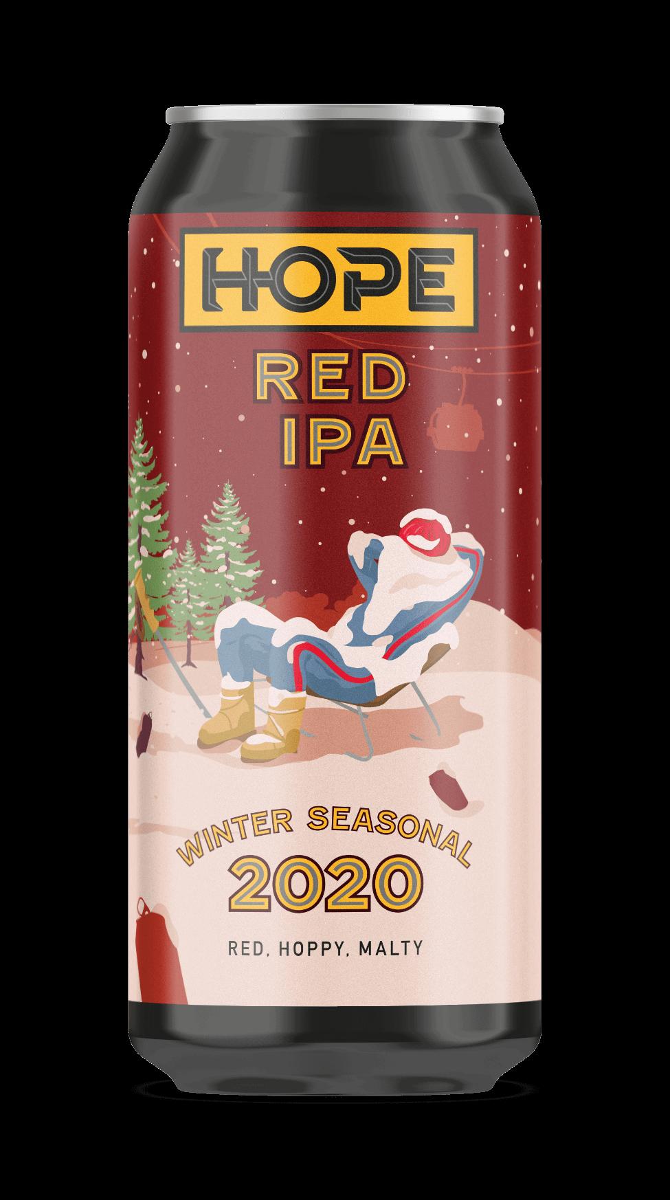 Hope Beer Winter Seasonal Red IPA