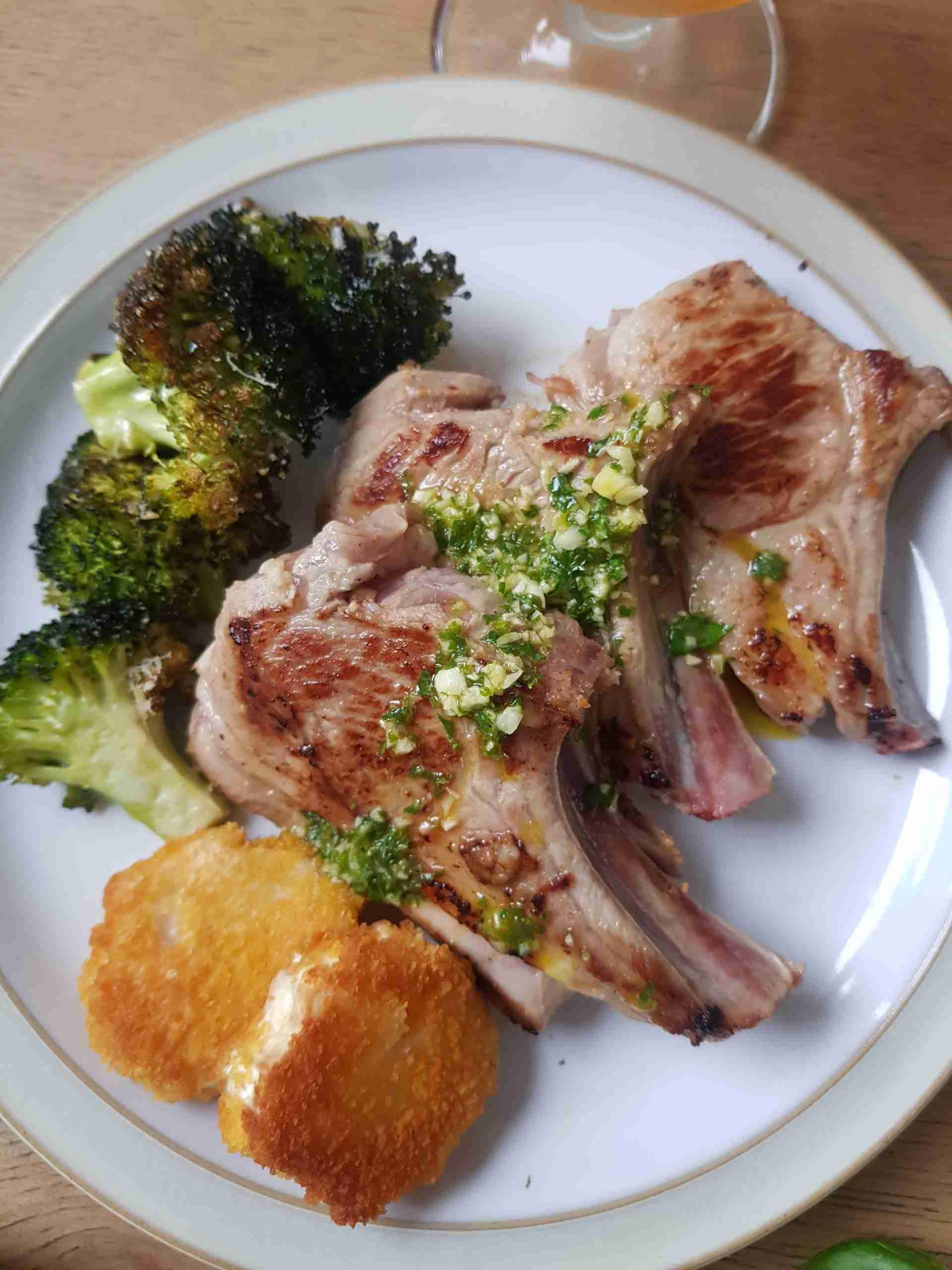 Cooking with Hope Beer: Marinated Lamb Chops thumbnail