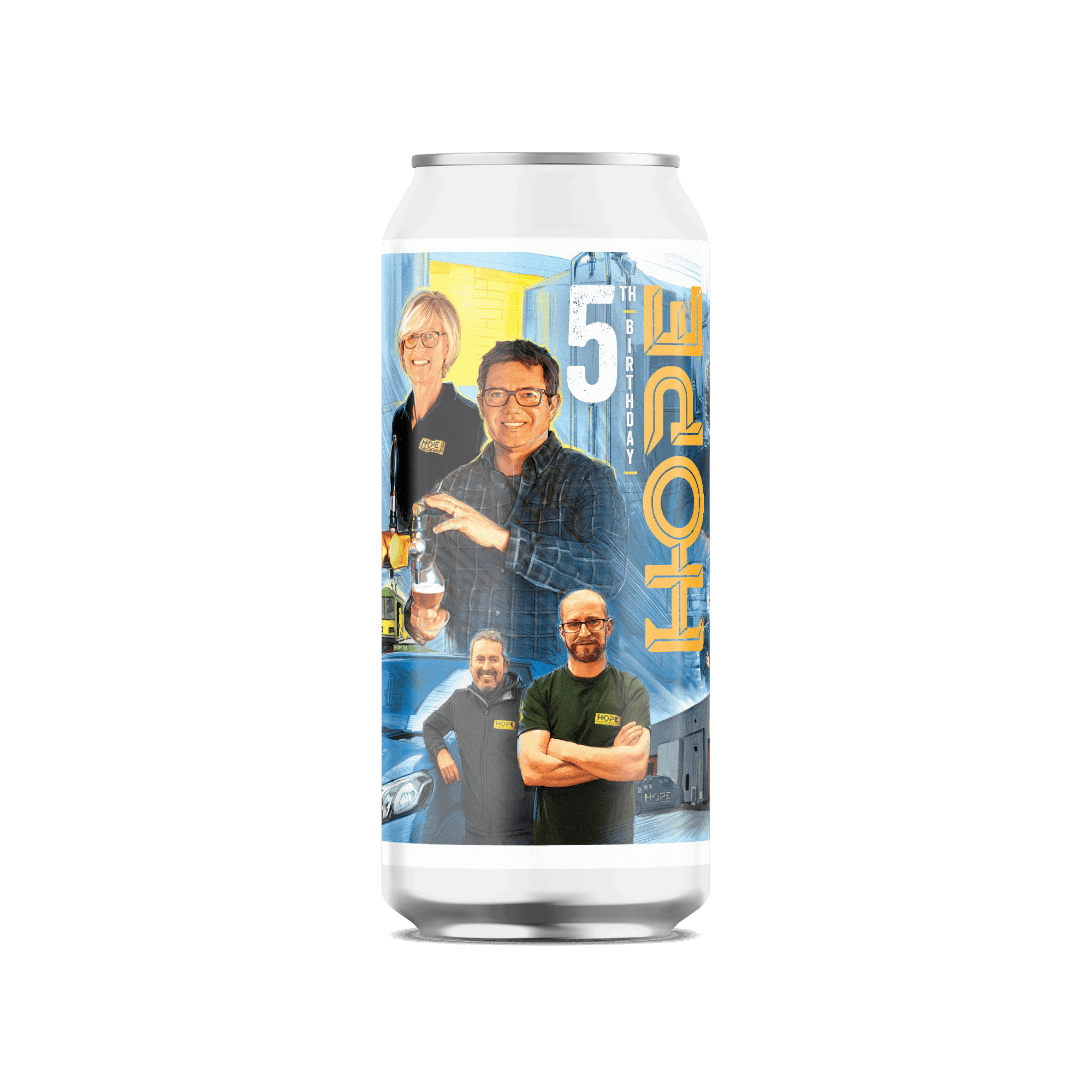 Hope Beer Overnight Oats IPA